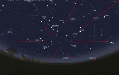 Quadrantid meteor shower to peak on Tuesday